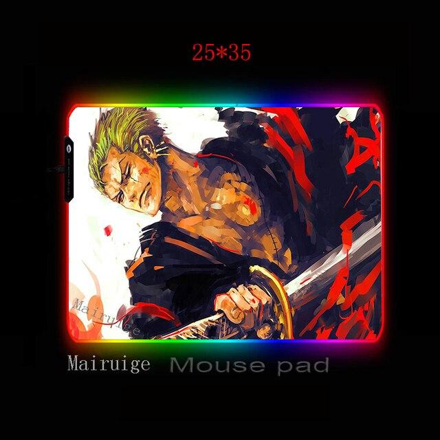 Фото mairuige красная игра большой rgb коврик для мыши черный замок цена