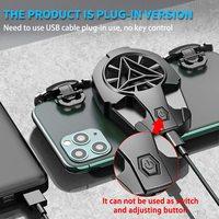 PUBG Mobile Controller Fan di gioco Controller L1R1 Trigger di gioco con ventola di raffreddamento del telefono Controller di gioco del telefono Gamepad Call of Duty