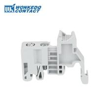 E/UK и E/UK-2 EW 35 производитель торцевой упор для великобритании и SAK клеммные блоки на din-рейку концевой кронштейн 10 шт