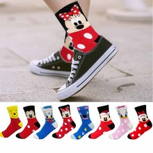 Fashion Casual women socks Cartoon socks Animal Mickey Donal