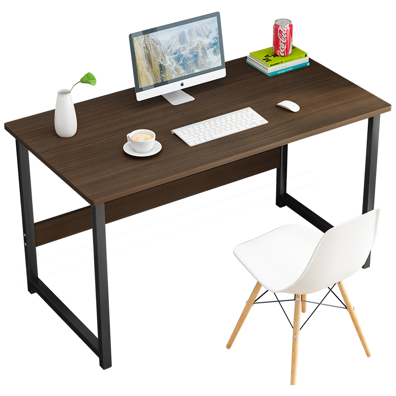 Computer Table Simple Small Table Desktop Home Bedroom Solid Wood Color Desk Simple Modern Student Office Writing Desk Tables