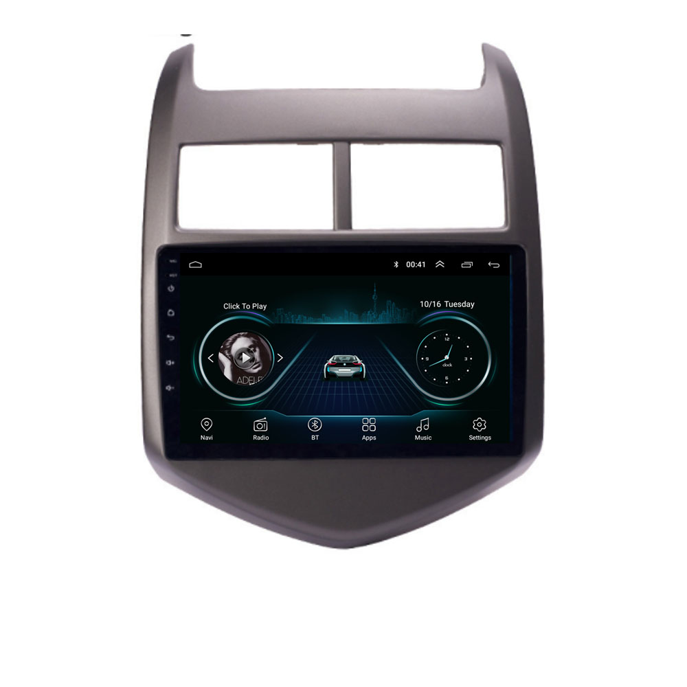 4G LTE Android 10.1 For Chevy Chevrolet <font><b>AVEO</b></font> sonic 2010 2011 2012 <font><b>2013</b></font> Multimedia Stereo Car DVD Player Navigation GPS Radio image