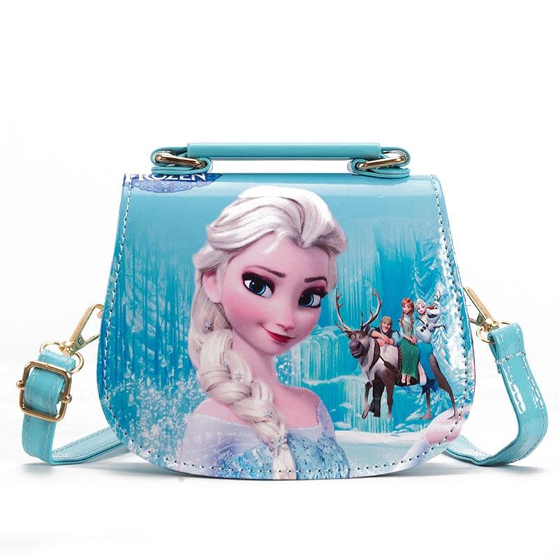 Disney princess children's shoulder bag girls Messenger bag new Frozen Elsa Anna  girl baby shoulder bag frozen handbags