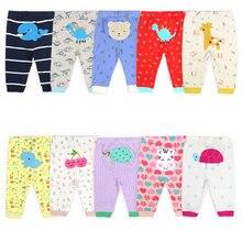 Baby Pants Newborn Boy Spring Cotton Cartoon Elvesnest Random-Color Autumn 2pcs/Lot