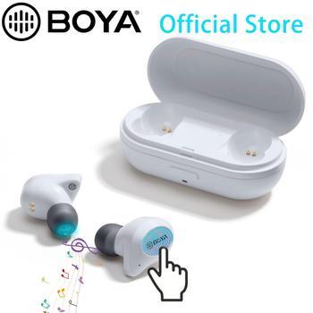 Bluetooth Earbuds, BOYA Headphones Wireless Earbuds 6H Cycle Playtime in-Ear Wireless Headphones Hi-Fi Stereo for Smarthones