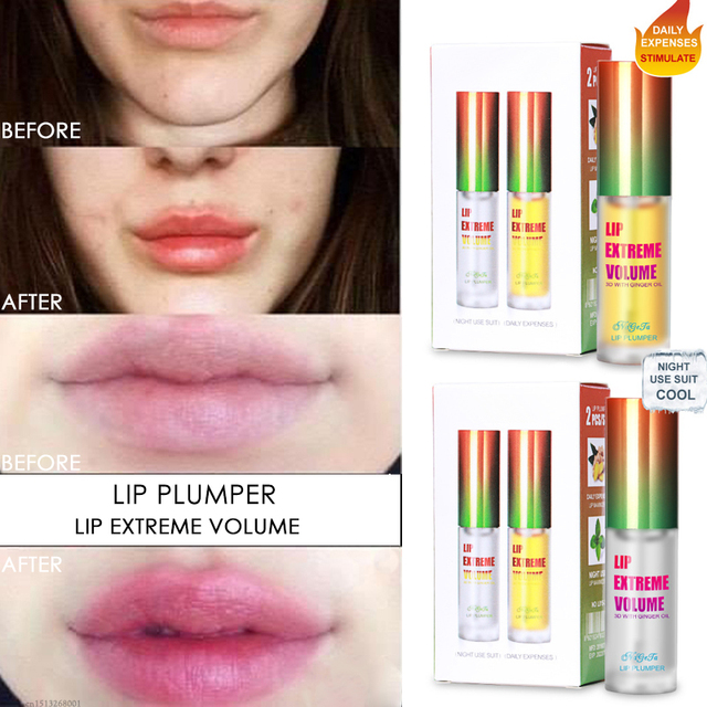 Collagen Plumping Gloss Moisturizer Extreme Volume Essence Lips