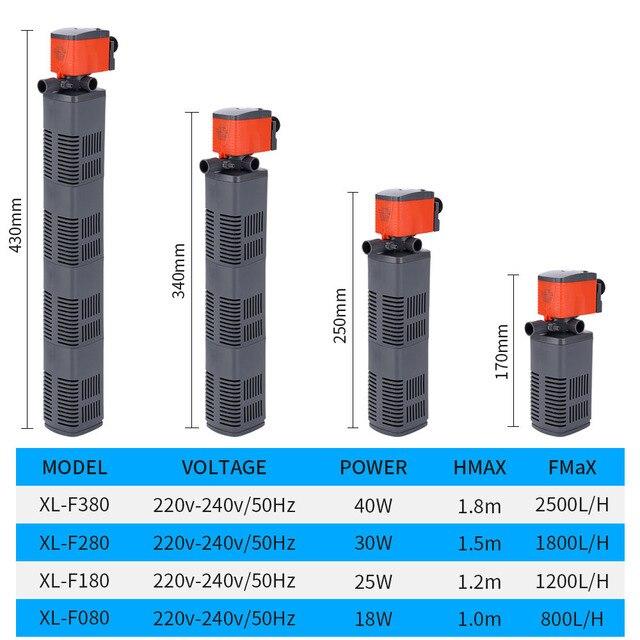 Multifunction Aquarium Oxygen Water Pump And Filter 6