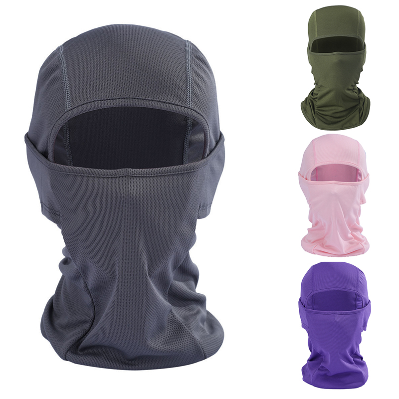 Winter Full Skiing Face Mask Motorcycle Keep Warm Windproof Breathable Anti-dust Snowboard Mask Cycling Hats Cap Balaclava Scarf
