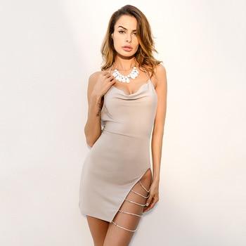 Ladies Party Bodycon Mini-Dresses