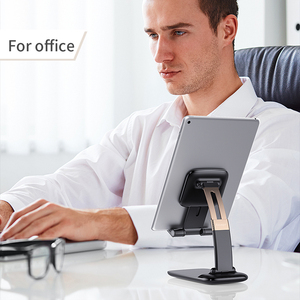 Image 5 - Essager Foldable Desk Mobile Phone Holder Stand For iPhone iPad Pro Tablet Flexible Gravity Table Desktop Cell Smartphone Stand