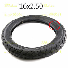 16x2.50 64 305 tire inner tube Fits Kids Electric Bikes Small BMX Scooters 16*2.5 with a bent angle valve stem 1