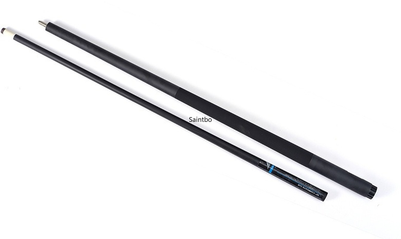 Carbon Rod 1/2 Carbon Pool Cue Black American Nine Balls Club Big Head Club Billiards Cue Sticks