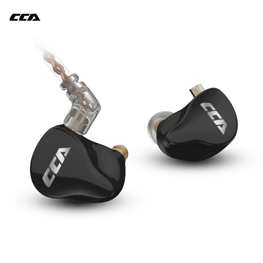 CCA CA16 In Ear Monitors Earphones 7BA 1DD Hybrid Drivers Wired Earphones HIFI Noise Isolating IEM Earbuds For CCA C16 C12 KZ