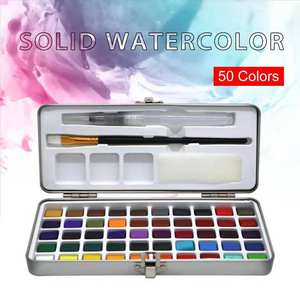 Watercolor Pigment Paper-Supplies Drawing Portable for Kids Transparent New-Arrival