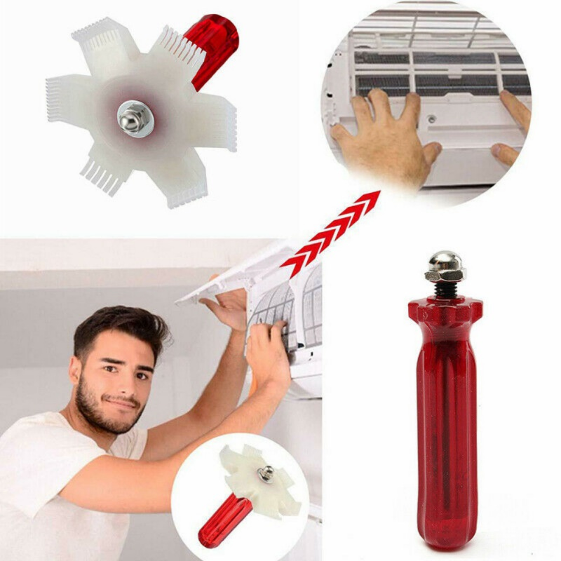 Universal Car A/C Radiator Condenser Fin Comb Air Conditioner Coil Straightener Auto Cooling System Repair Tool Cleaning Tools
