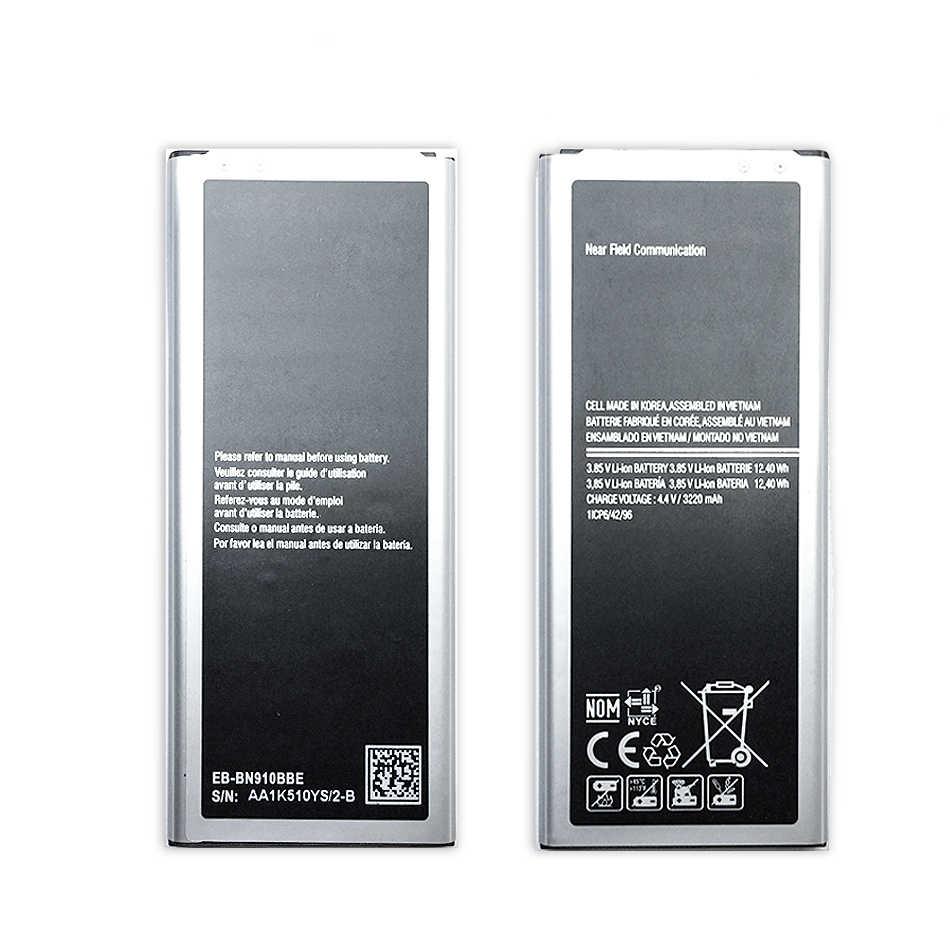 Do Samsung Note4 bateria do samsunga Galaxy Note 4 N910 N910F N910A N910V N910P N910T N910H EB-BN910BBE 3220mAh