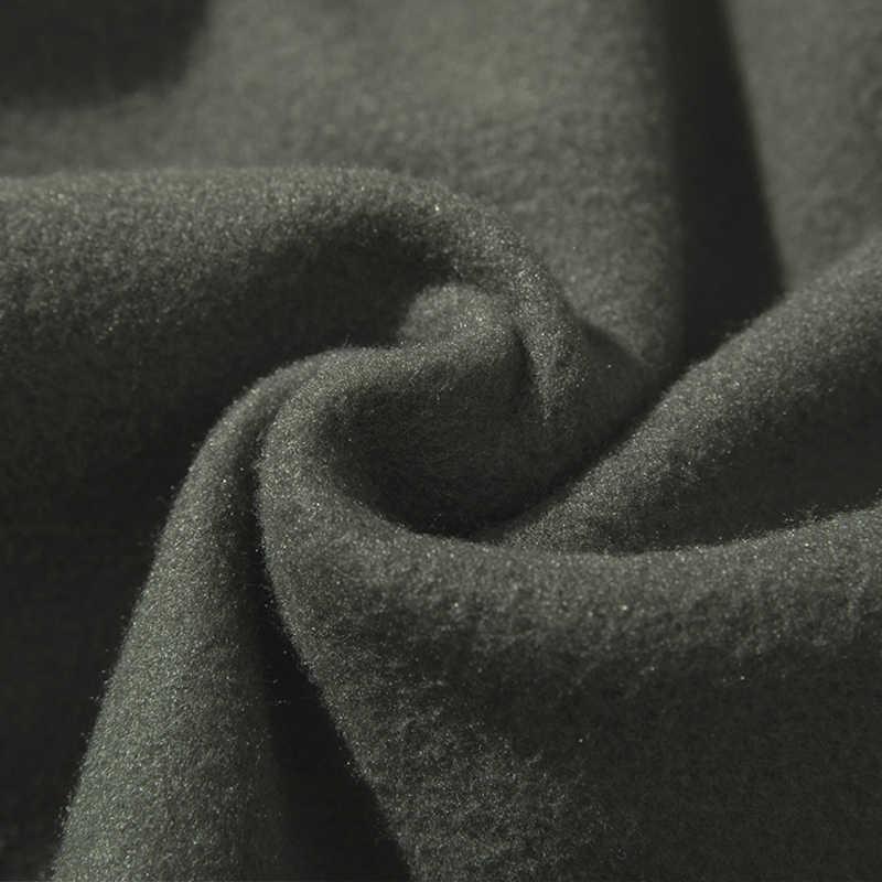 따뜻한 양털 후드 티 남성용 스웨터 2020 봄 가을 솔리드 화이트 컬러 힙합 Streetwear Hoody 남성 의류 EU SZIE XXL
