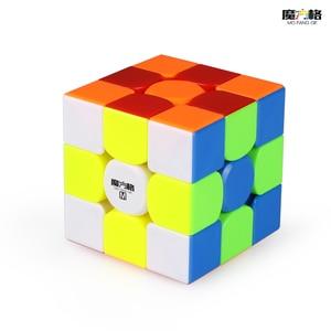 Image 2 - QiYi cubo mágico magnético profesional WCA GTS2 M 3x3, juguetes educativos