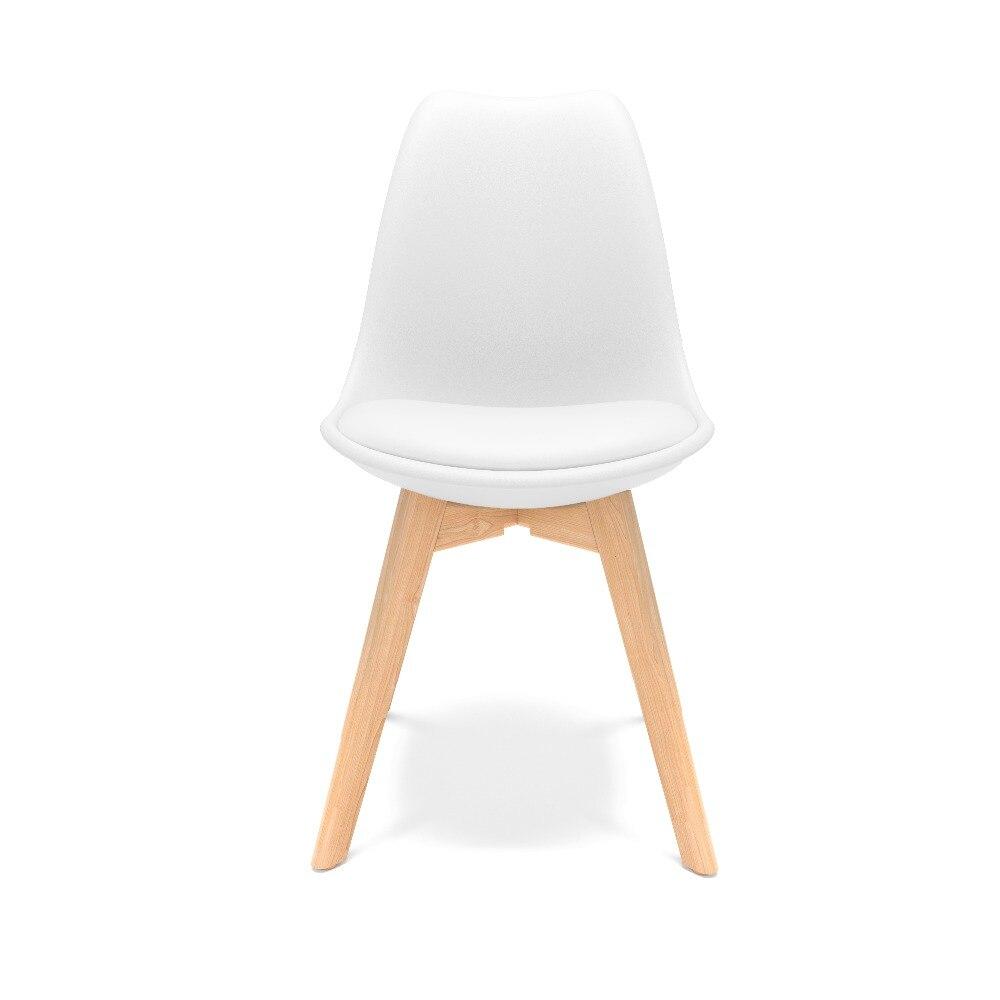 伊姆斯椅子郁金香白色(角度2)