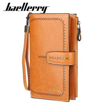 dudini fashion korean style wallet pu leather long section wallet women printing geometric pattern zipper 1 fold women wallets 2020 NEW Long Women Wallets Top Quality PU Leather Female Wallets Card Holder Fashion Female Purse Zipper Brand Wallet For Girl
