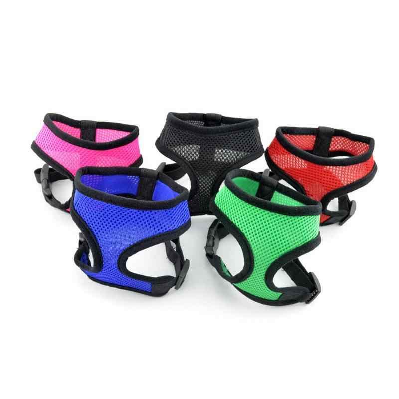1pc Cablaggio Della Maglia della Maglia Della Cinghia di Cane Collare Dell'animale Domestico per il Cane Puppy Conduce Comfort Harness Hot
