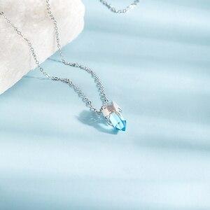 Image 2 - Thaya ไม่สมมาตร Glacier สร้อยคอสัตว์น่ารัก S925 จี้เงินสร้อยคอผู้หญิงเครื่องประดับ
