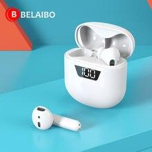 Fones de ouvido sem fio bluetooth 5.0 tws fone de ouvido fones controle toque esporte correndo gameing suporte dropshipping
