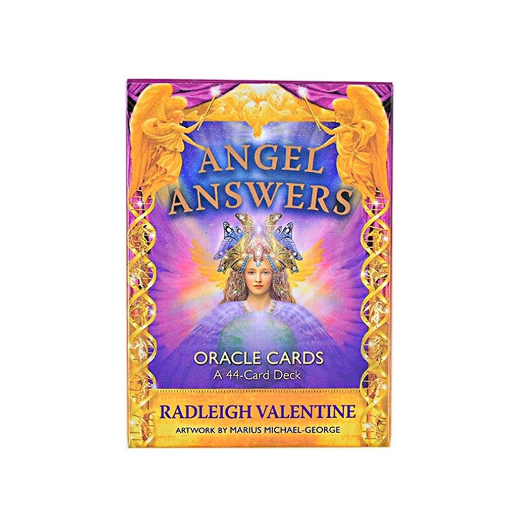44 шт Вечерние колоды игральных карт настольные игры развлечения Ангел ответы Oracle карт колода уход за автомобилем руководство Хранитель
