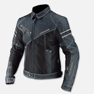 Image 4 - KOMINE Pantalon de Moto pour hommes, Pantalon de protection pour faire de randonnée, de Motocross, nouveau