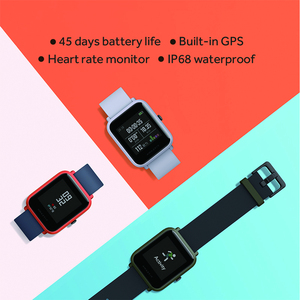 Image 5 - Global Version Huami Amazfit Bip Smart Watch GPS Gloness Smartwatch Smart watch Watchs 45 Days Standby for Phone MI8 IOS