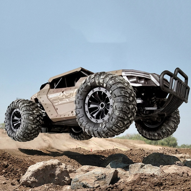 RC Car Climbing Car Double Motors Drive Bigfoot Car Remote Control Model Off-Road Vehicle Oys for Boys Kids 3