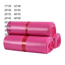 Plastic Mailer Envelope Bags Courier Bag Poly Shipping Mailing Pink Packaging Bag Parcel Storage