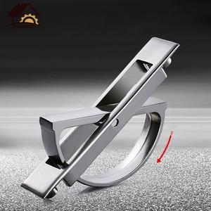 Myhomera Tatami Hidden Handles 180 Rotating Zinc Alloy Recessed Flush Pull Cover Floor Cabinet Door Concealed Furniture Handle