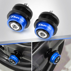 Image 1 - for Yamaha TMAX 530 T MAX t max 530 tmax530 sx dx 2019 2018 2017 Motorcycle 6mm Accessories Swingarm Slider Spools stand screws