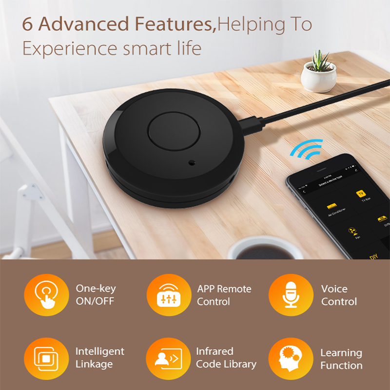 Universal Remote WiFi IR Control Hub Smart Home Voice Control For Alexa Google Home One for All Infrare WiFi Remote Controller