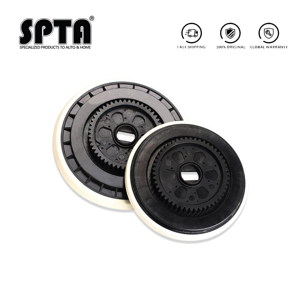Spta placa traseira para polidor felex, 5/6 polegadas, gancho substituível, encosto facial, placa para rotação forçada da polidor
