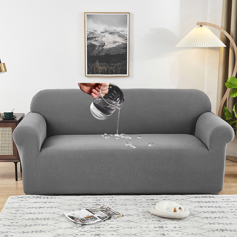 waterproof thick sofa protector Jacquard solid printed sofa covers for living room couch cover corner sofa slipcover L shape
