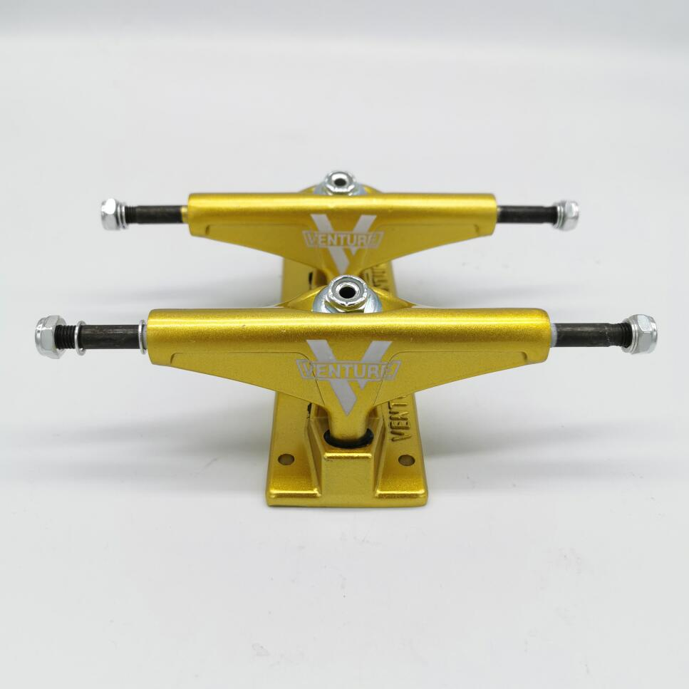 5inch 5.25inch VENTURE Skateboard Trucks Good Quality Aluminum Alloy Truck Carbon Steel Hollow Skate Trucks