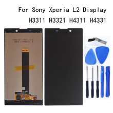 5.5 inch For Sony Xperia L2 LCD Display + Touch Screen H3311 H3321 H4311 H4331 Display For Sony L2 LCD Display Repair Parts цена и фото
