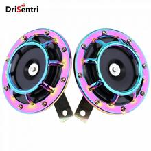 2pcs 12V Universal Super Loud 139DB Blast Tone Grill Mount Electric Compact Horn for Car New