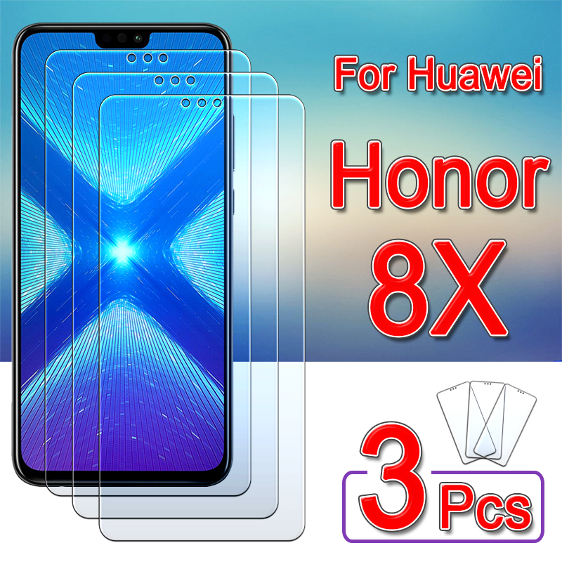 Honor 8x Glass Protective For Huawei 8 X Tempered Glas X8 Screen Protector Honor8x 1 To 3 Pcs