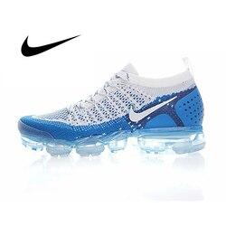 Оригинальные оригинальные мужские кроссовки для бега NIKE AIR VAPORMAX FLYKNIT 2, дышащие спортивные уличные спортивные кроссовки хорошего качества ...
