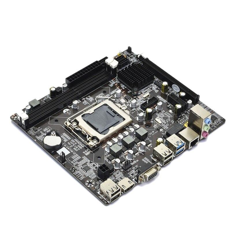 B75 carte mère LGA1155 DDR3 prend en charge la mémoire 2X8G SATA2.0 USB3.0 HDMI Interface haute vitesse pour la série de serveurs LGA1155