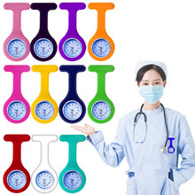 Brooch Watch Tunic Medical Silicone Free-Battery-Doctor with Hot-Sell Fashion Pocket