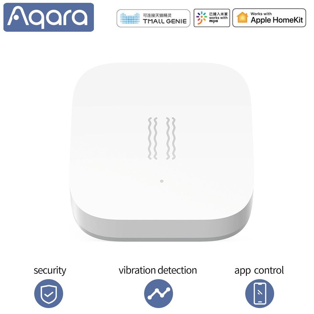 Aqara датчик удара, умный датчик движения, датчик вибрации, сигнализация, монитор Zigbee mi home для xiaomi, умный дом, приложение, управление