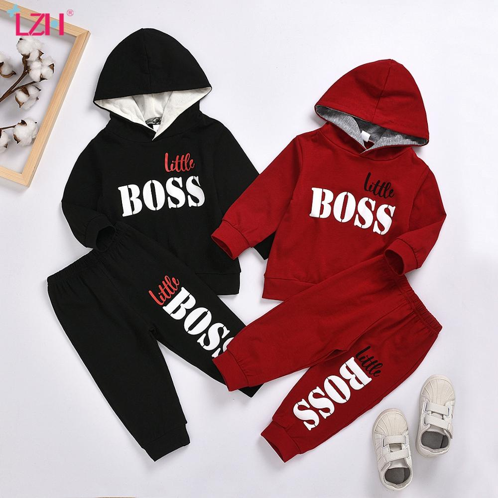 LZH 2020 Autumn Spring Baby Girls Clothes Set Long Sleeve Hooded Toddler Boys Tracksuit Costumes Casual Children Clothing Suits|Clothing Sets| - AliExpress
