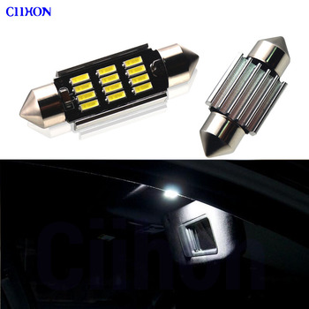 Perfect White Canbus Error Free LED bulb interior Vanity Mirror light Kit for BMW 3 Series E36 E46 E90 E91 E92 (1990-2013) image