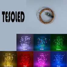 LED String lights 2M 3M 4M 5M 10M waterproof Copper wire Home Christmas Wedding Decoration Powered by USB powered 8 modes 8.21