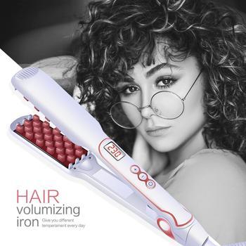 Магический утюжок для волос, электрический выпрямитель для волос, кисти для мужчин и женщин, инструменты для укладки волос, выпрямление вол...