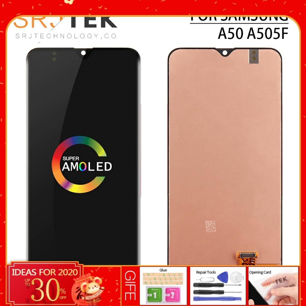 Original 6.4 for Samsung Galaxy A50 LCD Display A50 Touch Screen Digitizer Assembly For Samsung A50 Display A505 A505F A505FD image